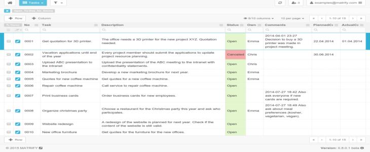 task management tracker
